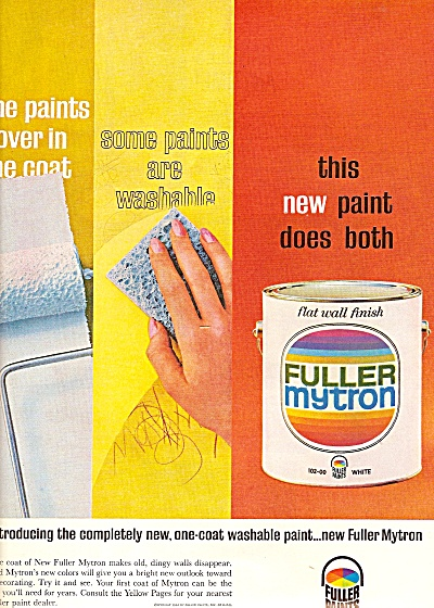 Fuller nytron paints  ad 1964 (Image1)