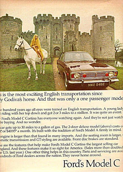 Ford's Model C ad 1968 (Image1)