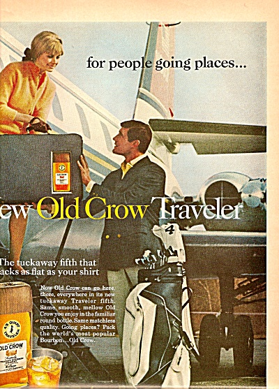 Old Crow  whiskey ad 1968 (Image1)