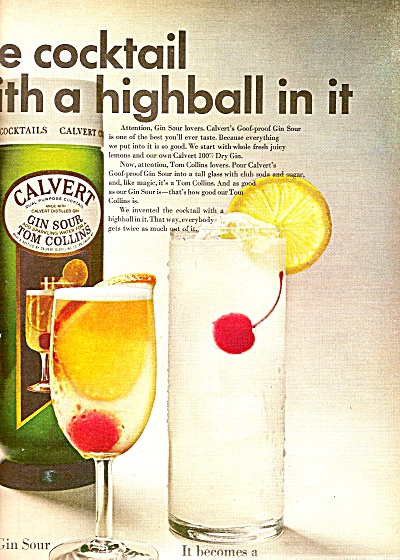 Cal;vert gin sour ad 1968 (Image1)