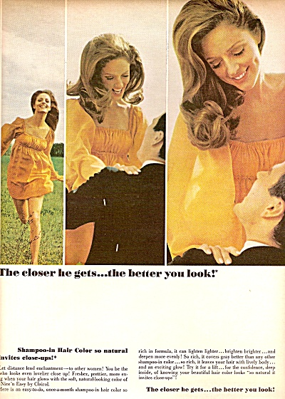 Clairol Nice'n easy ad 1968 SUNNY GRIFFIN (Image1)