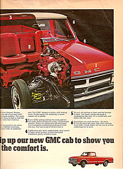 GMC trucks ad 1968 (Image1)