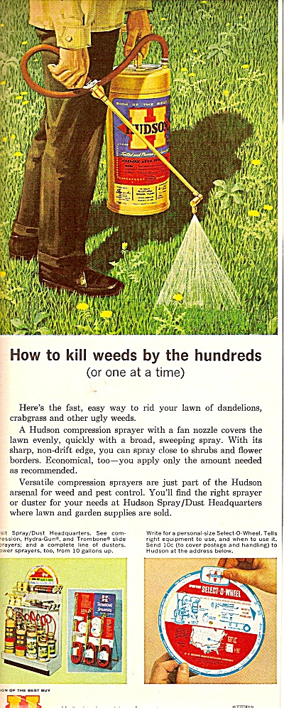 Hudson weed  killer ad 1964 (Image1)