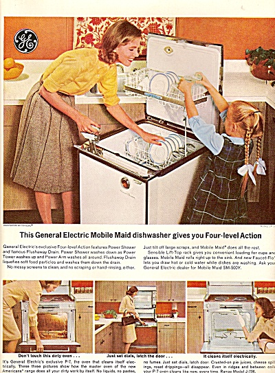 General electric dishwasher ad 1964 (Image1)