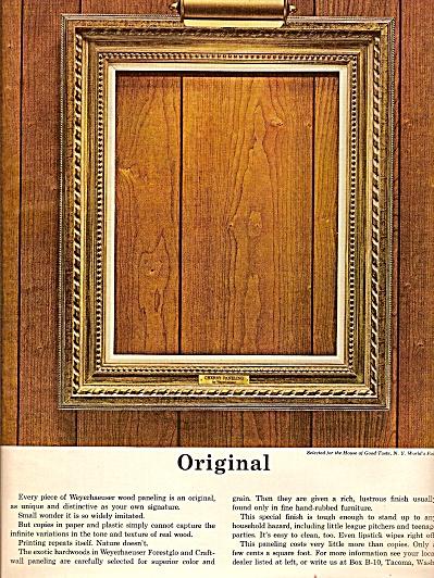 Weyerhaeuser paneling ad 1964 (Image1)