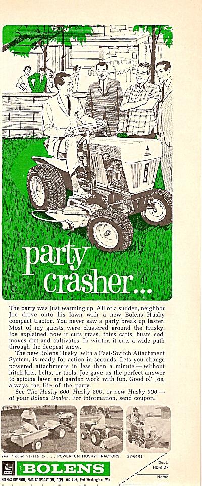 Bolens husky tractors ad 1964 (Image1)