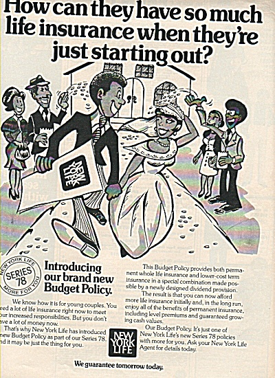 New York Life Insurance ad 1978 (Image1)