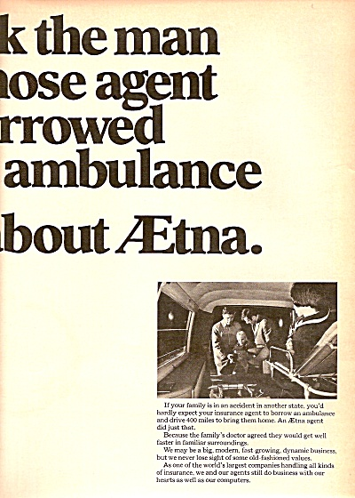 Aetna life & casualty  ad 1969 (Image1)