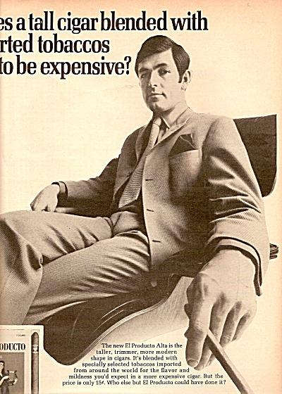 El Producto cigars  ad 1969 (Image1)