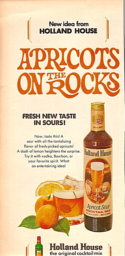 Holland House cocktail mix ad 1969 (Image1)