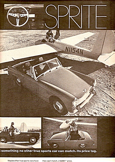 MG Austin Sprite auto ad 1969 (Image1)