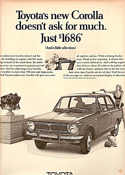 Toyota auto ad 1969 (Image1)