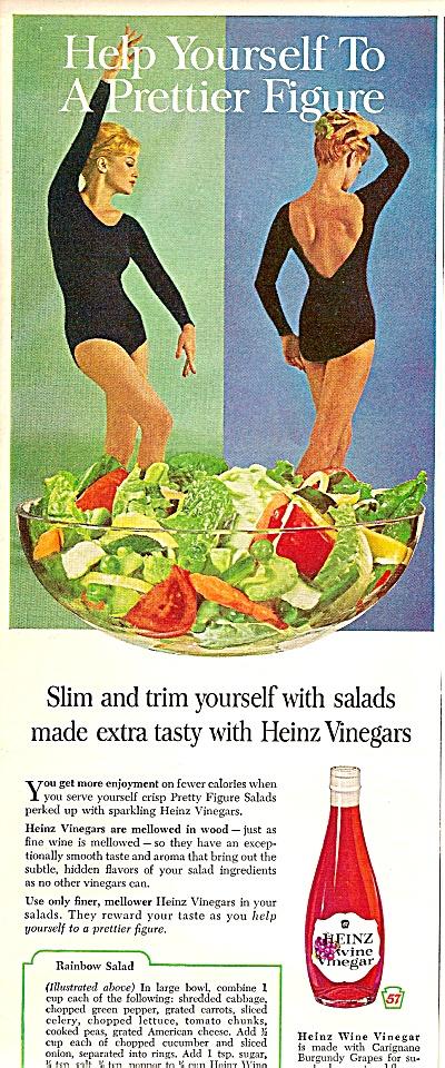 Heinz  wine vinegar ad 1964 (Image1)