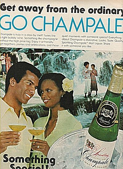 Champale malt liquor ad 1978 (Image1)