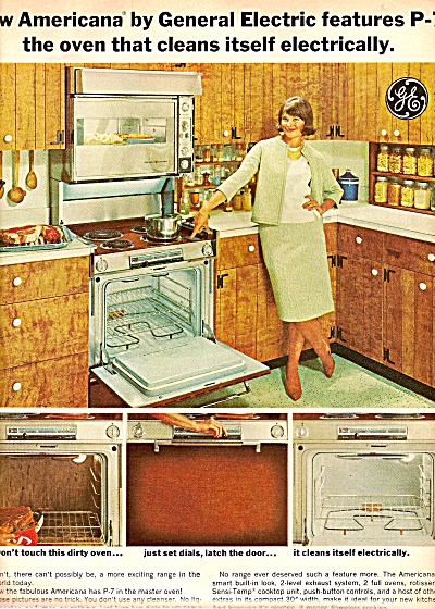 General Electric oven ad 1964 (Image1)