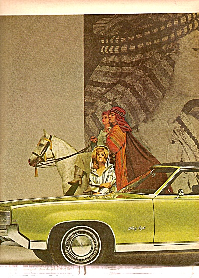 Oldsmobile Ninety Eight Auto Ad For 1969