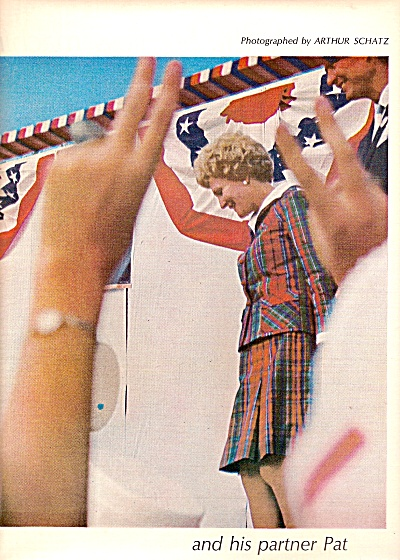 PAT NIXON  story and pictures - 1968 (Image1)