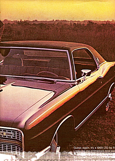 Ford LTD auto ad 1968 (Image1)