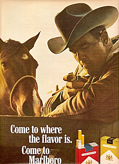 Marlboro cigarettes ad 1968 (Image1)