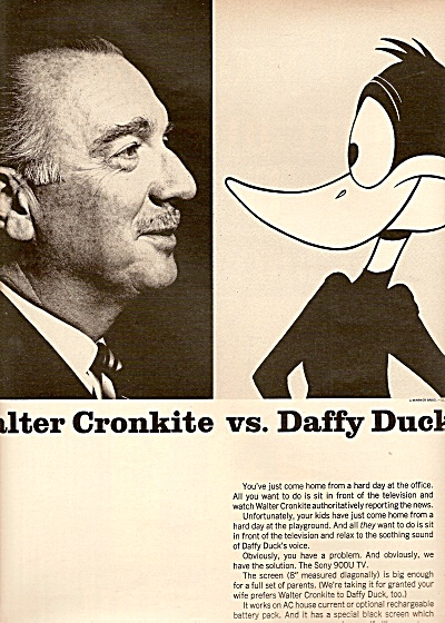 Sony famil;y peacemaker - WALTER CRONKITE 1968 (Image1)