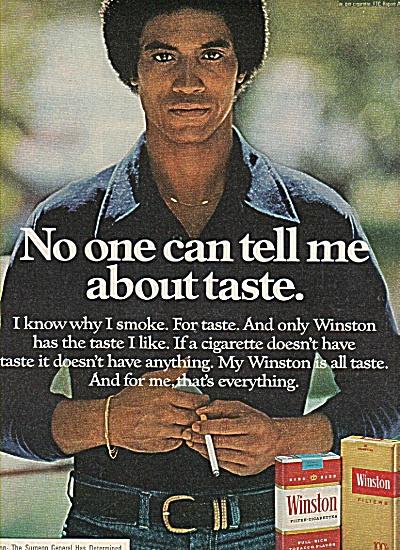 Winston cigarettes ad 1960 (Image1)