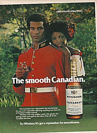 Windsor Supreme Canadian whiskey ad 1960 (Image1)