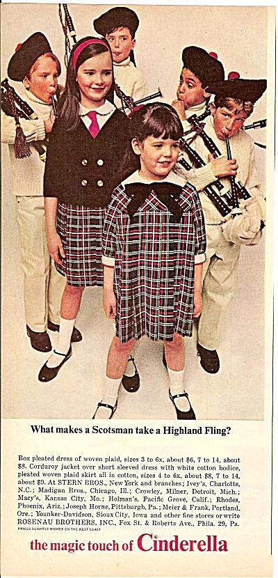 Cinderella Children clothes ad 1965 (Image1)