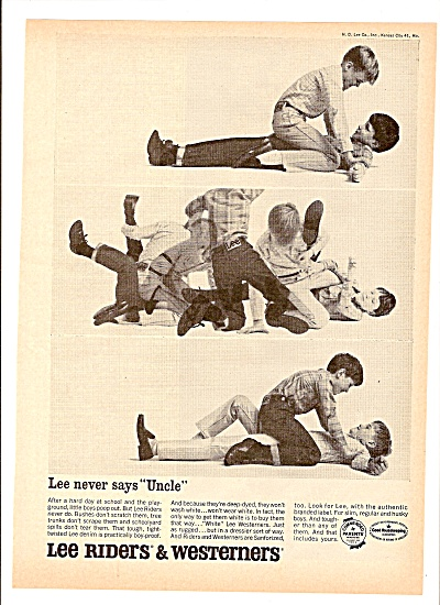 Lee Riders AD 1965 - BOYS PLAYING (Image1)