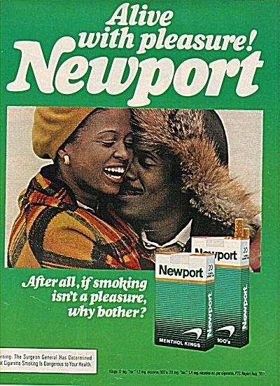 Newport menthol kinds cigarettes ad 1960 (Image1)