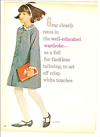 Young Ladies wardrobe selections ad 1965 (Image1)