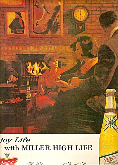 Miller high life beer ad 1963 (Image1)