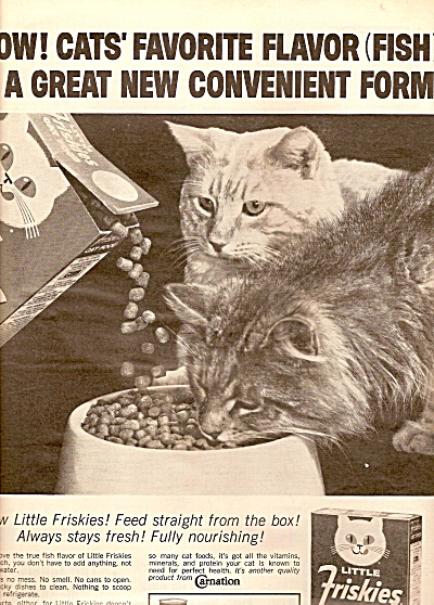 Little Friskies cat food ad 1963 (Image1)