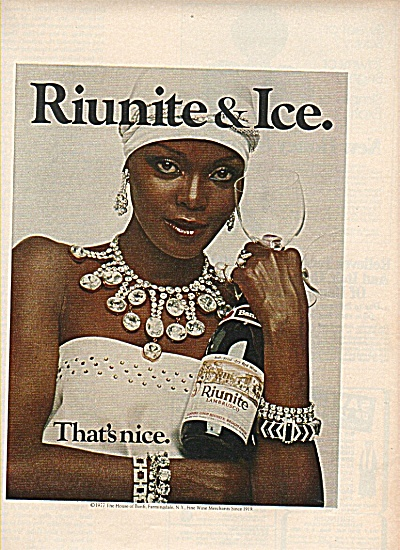 Riunite Lambrusco Ad 1960