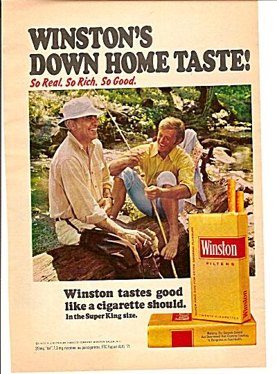 Winston cigarettes ad 1972- (Image1)