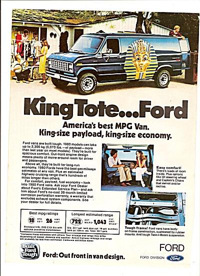 Ford MPG van ad 1980 (Image1)