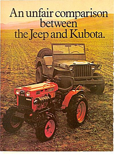 Kubota tractors ad 1980 (Image1)