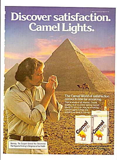 Camel lights ad 1980 (Image1)