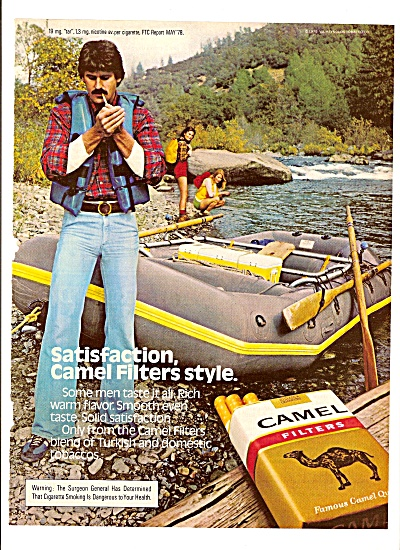 Camel filters cigarettes ad 1980 (Image1)