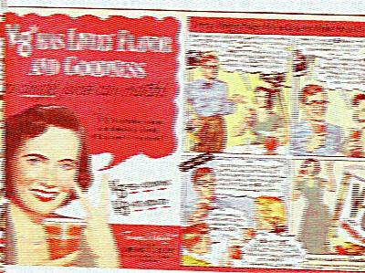 V-8 Juice - TERESA WRIGHT  ad 1951 (Image1)