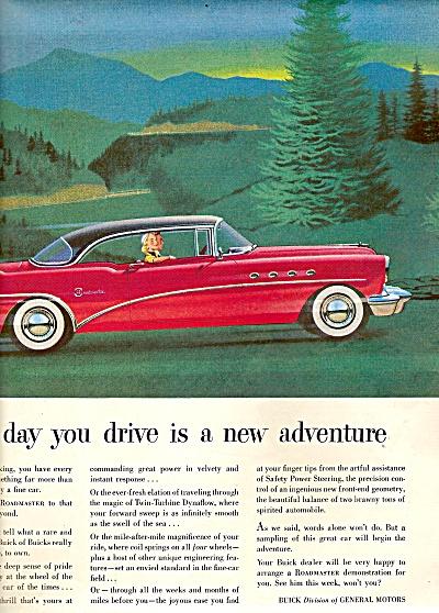 Buick roadmaster ad 1954 (Image1)