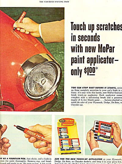 Chrysler Corporation parts division ad 1954 (Image1)
