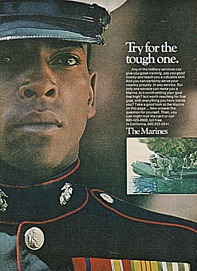 U.S. Marines recruiting ad 1978 (Image1)