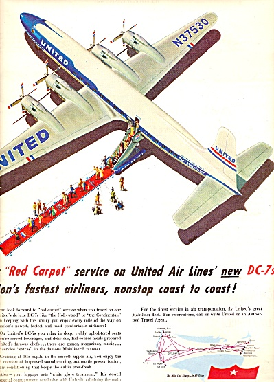 United Air  Lines ad 1954 (Image1)
