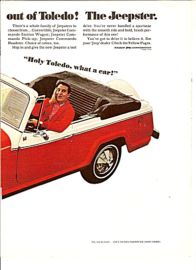 Thge Jeepster ad 1967  DANNY THOMAS (Image1)