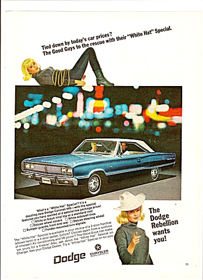 Dodge coronet 440 ad1967 (Image1)