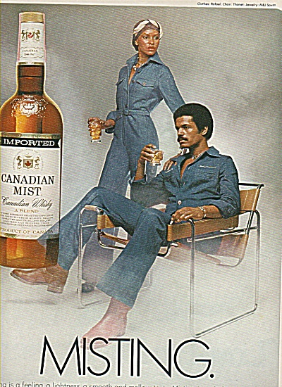 Canadian Mist Ad 1978