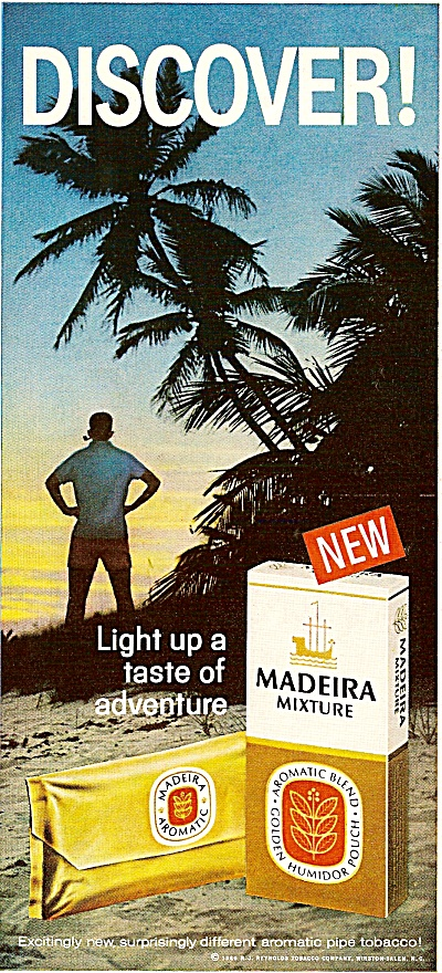 Madeira  humidor tobacco ad 1967 (Image1)