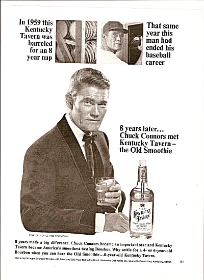 Kerntucky Tavern whisky =- CHUCK CONNORS  13 1967 (Image1)