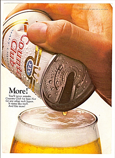Country Club malt liquor ad 1967 (Image1)