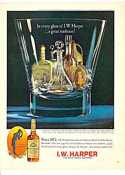 I. W. Harper bourbon ad 1967 (Image1)